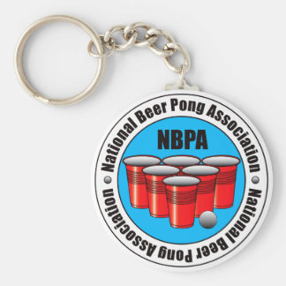 Beer Pong Key Chain