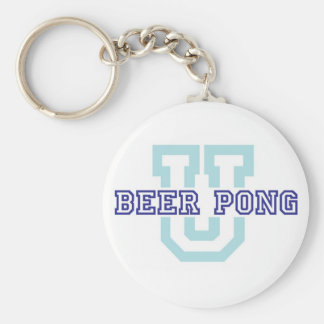 Beer Pong Keychain