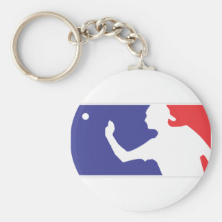 Beer Pong Keychains