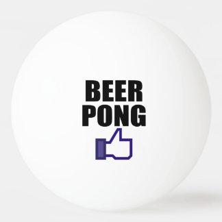 BEER PONG, LIKE THIS PING PONG BALL