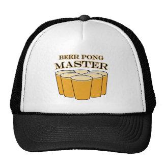 Beer Pong Master Cap