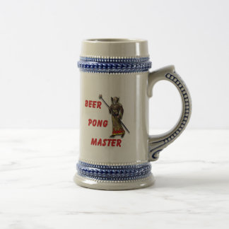 Beer Pong Master Mugs