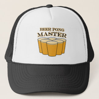 Beer Pong Master Trucker Hat
