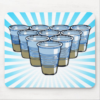 beer pong mouse mat