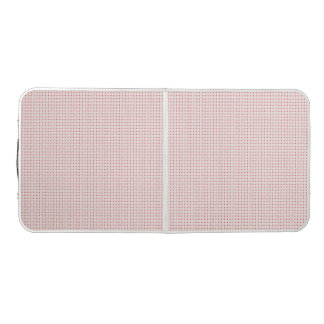 Beer Pong Table print with mat and pink square