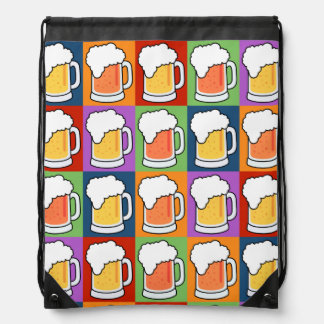 BEER Pop Art backpack