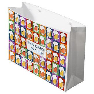 BEER Pop Art custom gift bags