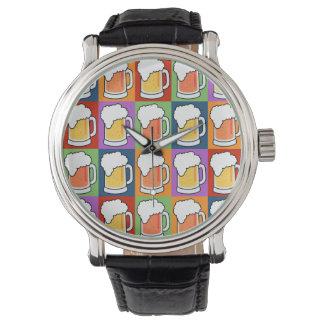 BEER Pop Art custom watches