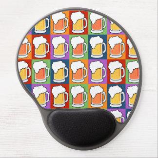 BEER Pop Art mousepad Gel Mouse Mat