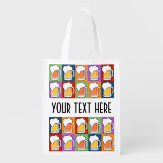 BEER Pop Art reusable bag