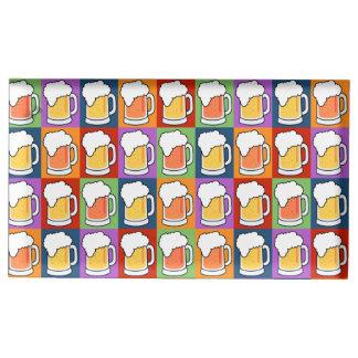 BEER Pop Art table card holder
