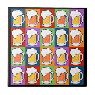 BEER Pop Art tiles