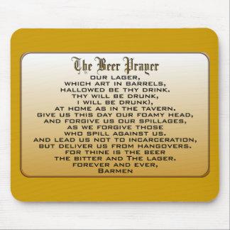 Beer Prayer Mouse Mat