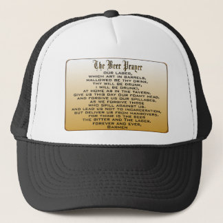 Beer Prayer Trucker Hat