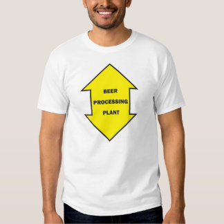 Beer Processing Plant Tee Shirt