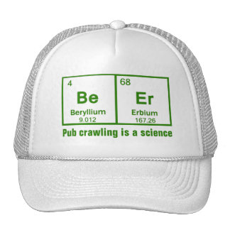 Beer Pub Crawling Is A Science Mesh Hat
