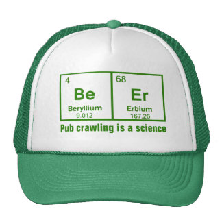 Beer Pub Crawling Is A Science Hats