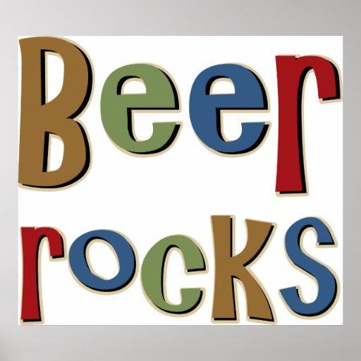 Beer Rocks Posters