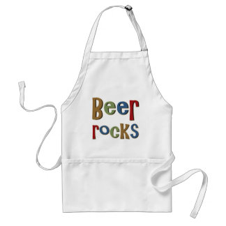 Beer Rocks Standard Apron