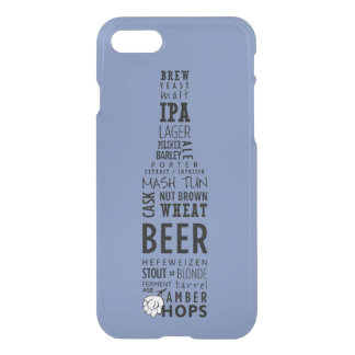 Beer shaped iPhone 7 Clearly™ Deflector Case