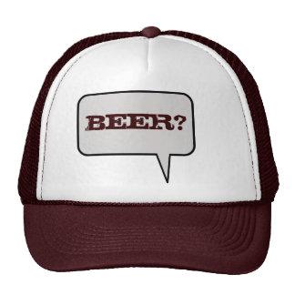 Beer Speech Bubble Hat