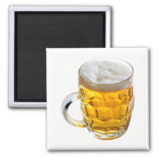Beer Square Magnet