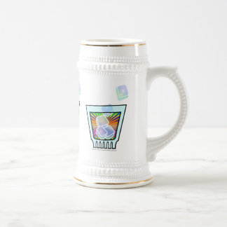 BEER STEIN - PSYCHEDELIC COCKTAIL GLASS BEER STEINS