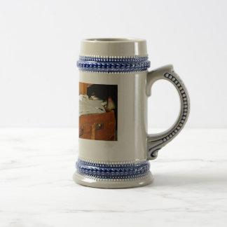 Beer stein ,suitcase , packing , holiday , beer , coffee mugs