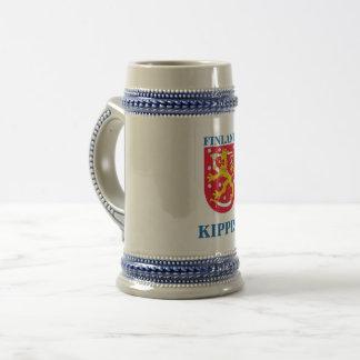 Beer Stein w/ Finnish Crest