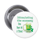 Beer Stimulus Pinback Buttons