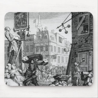 Beer Street, 1751 Mouse Mat