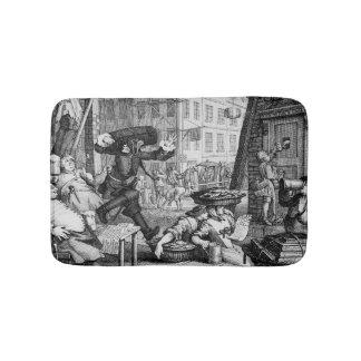 Beer Street, 1751 Bath Mats