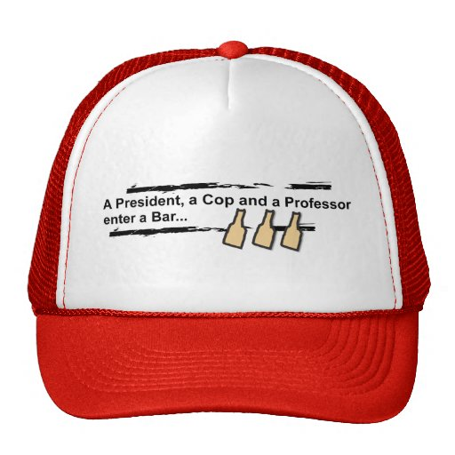 Beer Summit 2009 Political Humor Hat