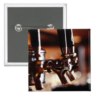 Beer Taps 15 Cm Square Badge