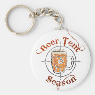 Beer Tent Season Keychain
