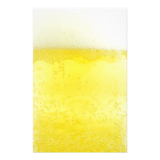 Beer texture design stationery