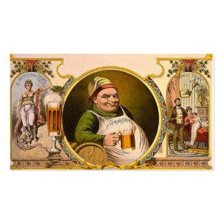 Beer The National Drink Vintage Retro Pack Of Standard Business Cards