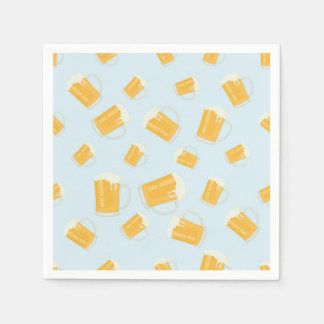 Beer Themed Paper Napkins