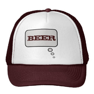 Beer Think Bubble Hat