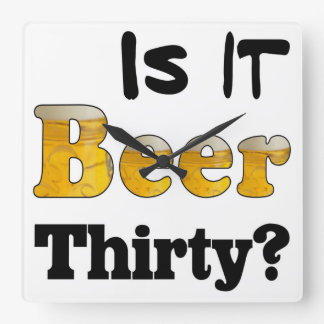 Beer Thirty Clock