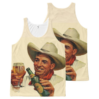 beer time All-Over print tank top
