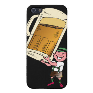 Beer timeglass iPhone 5 cover