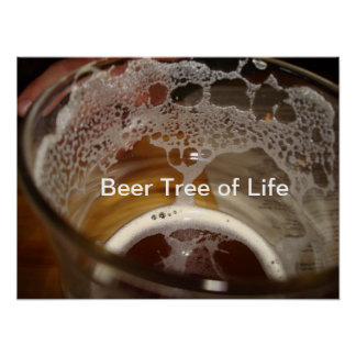 Beer Tree of Life Poster