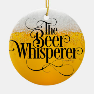 Beer Whisperer Christmas Ornament