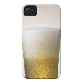 beer with foamy head iPhone 4 covers