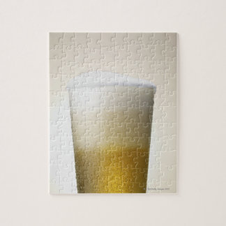 beer with foamy head jigsaw puzzle