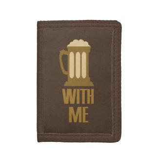 Beer With Me custom wallets
