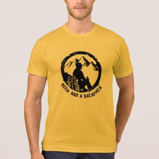 BeerAndaBackpack American Apparel T-Shirt