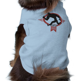 Beercathalon running muscle man beer sports sleeveless dog shirt