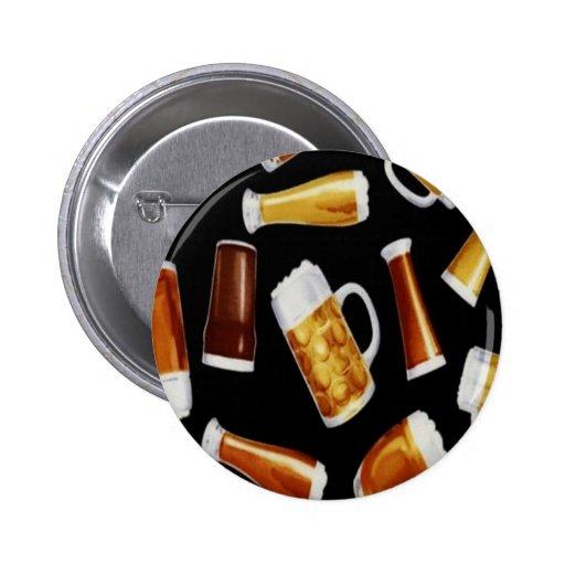 Beers 6 Cm Round Badge